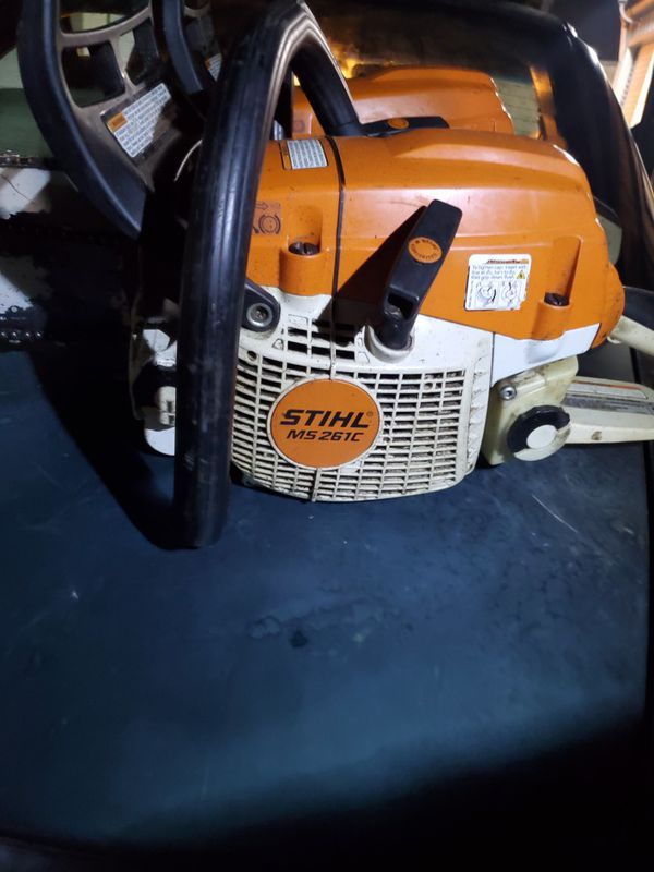 """Stihl MS 261 chainsaw with 20"""" bar"""