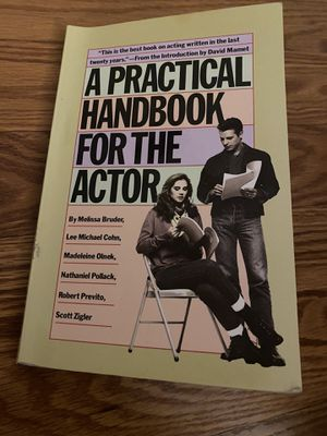 A Practical Handbook for the Actor for Sale in Springfield, MA