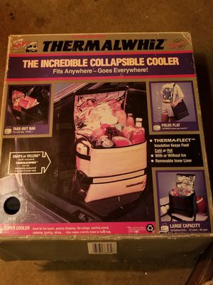 Thermalwhiz collapsible cooler for Sale in Moreno Valley, CA