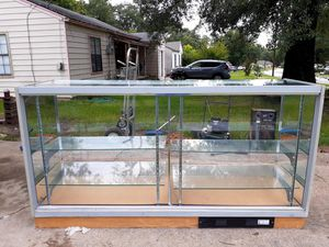 Glass Display Case for Sale in Tyler, TX
