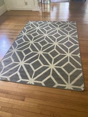3x5 Area Rug Grey/White for Sale in Raleigh, NC
