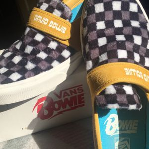 David Bowie Vans Collab Hunky Dory Classic Slip On 47 V Size 10.5 for Sale in Westchester, CA