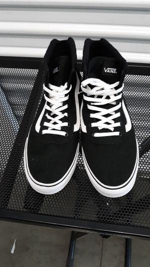 high tops Van's sneakers No box size 11 women's / 9.5 on men's for Sale in Anaheim, CA