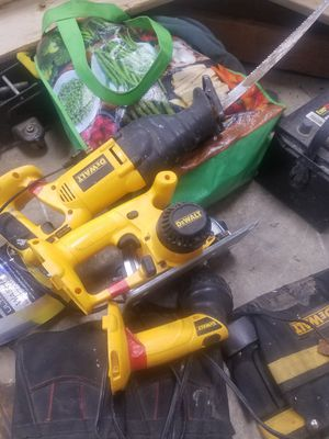 80 obo dewalt tools comes with drill aswell for Sale in Anchorage, AK