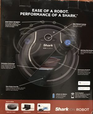 Shark ION™ Robot Vacuum R75 with Wi-Fi for Sale in Glenwood, OR