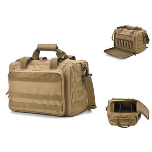 Gun Duffle Bag Tactical Pistol Shooting Storage Holster Case Hunting Ammunition Pouch Carry Paintball Hand for Sale in Westbrook, ME