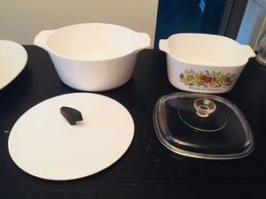 corningware casserole dishes, flower vases, perfume bottles, picture frames, cameo picture frames, and figurines for Sale in Laurel, MD