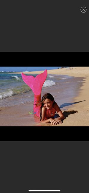 Mermaid tail for kids paid $150 for Sale in Los Angeles, CA