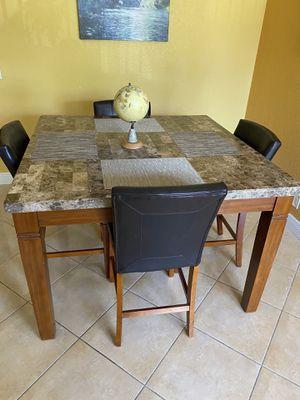 Edenton Merlot 5 Pc dining table for Sale in Pompano Beach, FL