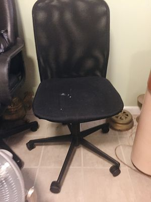 Black Mesh Desk Chair for Sale in Silver Spring, MD