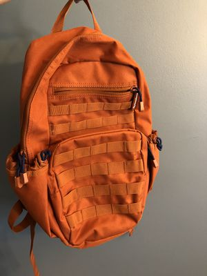 Orange Backpack Great Condition for Sale in Grove City, OH