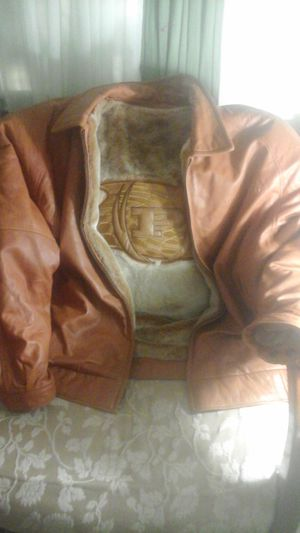 Leather Jacket for the Plus Size Man 6x for Sale in Baltimore, MD