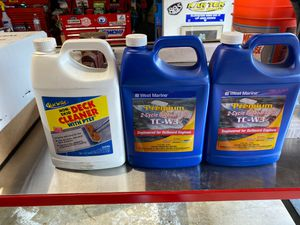 Boat 2 cycle oil and deck cleaner for Sale in West Covina, CA