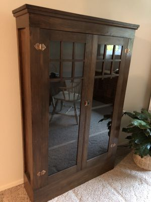 Beautifully restored Antique China/bookcase for Sale in Bellevue, WA