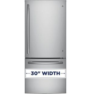 Gde21eskss – Ge® Energy Star® 21.0 Cu. Ft. Bottom-freezer Refrigerator for Sale in Portland, OR