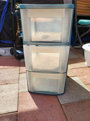 Plastic storage drawers for Sale in San Diego, CA