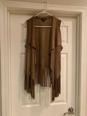 ana Boho Fringed Vest; NWOT; Size M for Sale in Chandler, AZ
