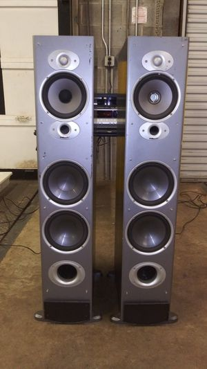 1/12 Polk Audio Rti10 High Performance Floor Tower Speakers- Outstanding for Sale in Decatur, GA