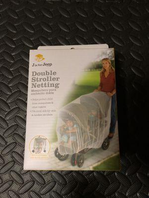 Double stroller netting new in box for Sale in Virginia Beach, VA