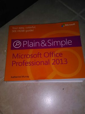 Microsoft office professional 2013 for Sale in West Palm Beach, FL