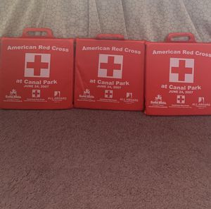 Three American Red Cross seat cushions for Sale in Brunswick, OH