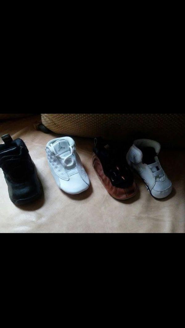 a5ec32b2afa Infant Foamposites and Jordan s 3c for Sale in Charlotte