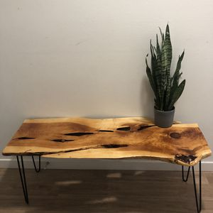 Modern Live Edge Table for Sale in Redmond, WA