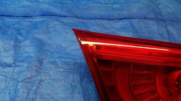2014 - 2016 INFINITI Q50 LEFT DRIVER SIDE INNER TRUNK TAIL LIGHT LAMP # 35641