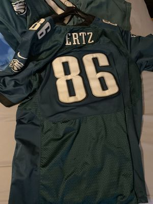 Zach Ertz Stitched Jersey with Super Bowl Patch for Sale in Horsham, PA