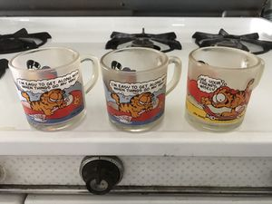 McDonald's Garfield glasses 1978 for Sale in undefined