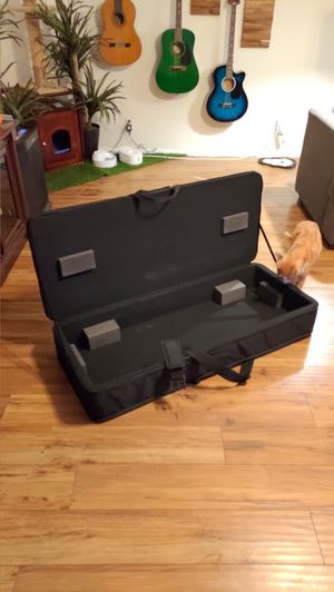 Large canvas hard top box, piano keyboard cover 47L x 20W x 8H for Sale in Costa Mesa, CA
