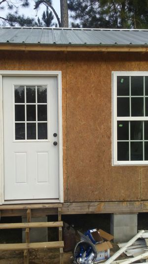 A small house full bathroom plumbing and wiring for Sale in Eastman, GA