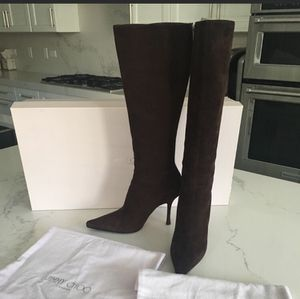 Jimmy Choo Chocolate Suede Boots for Sale in Chicago, IL
