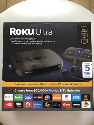 Roku Ultra 4660RW (Brand New) (Or Best Offer) for Sale in Los Angeles, CA