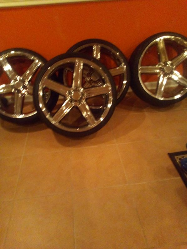 22 inch irocs with tires