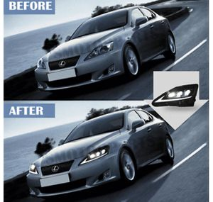 VLAND Full LED Projecctor Headlight Front Lamp For 2006-12 Lexus IS250 IS350 for Sale in Fort Lauderdale, FL