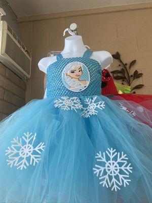 Elsa tutu dress for Sale in Glendale, AZ