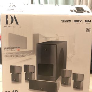 Home Theater Speaker System for Sale in Los Angeles, CA