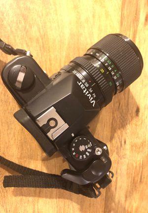 Vivitar SLR 35mm Film camera with case, lens, light meter & strap for Sale in Washington, DC