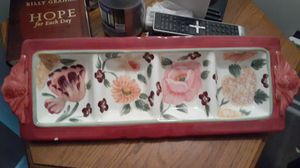 Certified International Pamela Gladding serving tray for Sale in Marietta, GA