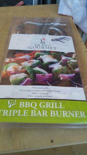 Bbq grill triple bar burner for Sale in San Diego, CA