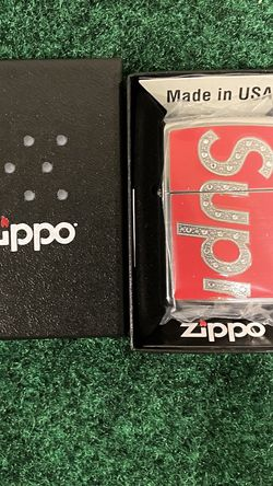 Supreme x Swarovski Zippo Lighter Red Brand new for Sale in Lynnwood,  WA