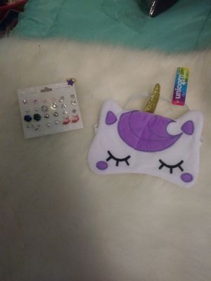 New Unicorn sleeping mask & earnings & ring for Sale in Yonkers, NY