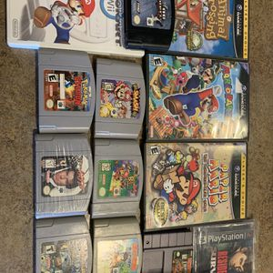 N64 GameCube Wii Ps1 Games for Sale in Glendale, AZ