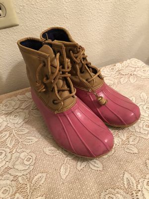 Girls sorry rain boots sz 2 for Sale in Camarillo, CA