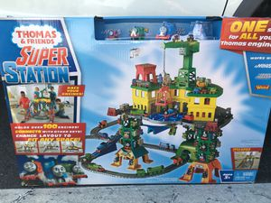 Thomas the Train & Friends Super Station Toy Set for Sale in Vista, CA