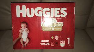 huggies little snugglers size 1 for Sale in Braintree, MA