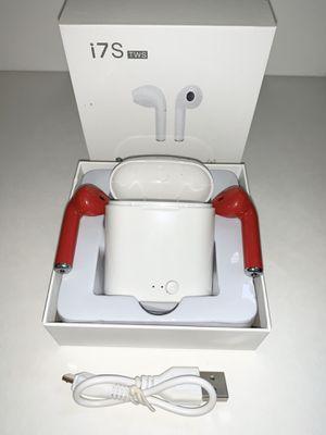 Wireless EarPods i7S RED for Sale in Los Angeles, CA