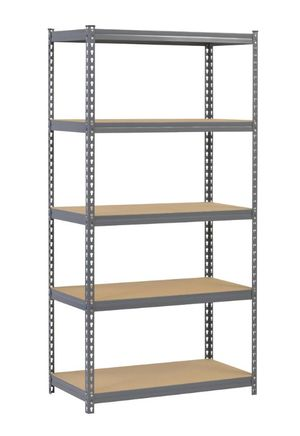Steel Particle Board Gray Shelving for Sale in Gilbert, AZ