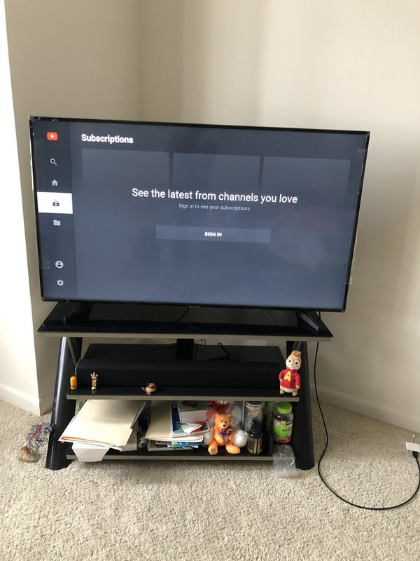 Samsung 55 inch smart tv with stand